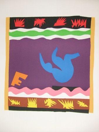 Litografía Matisse - Le Toboggan