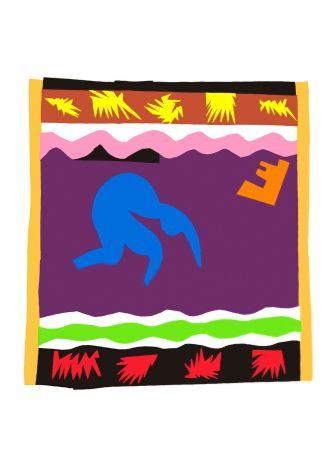 Litografía Matisse - Le Toboggan (Toboggan)