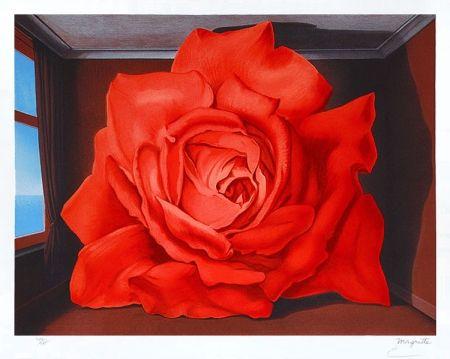 Litografía Magritte - Le tombeau des lutteurs