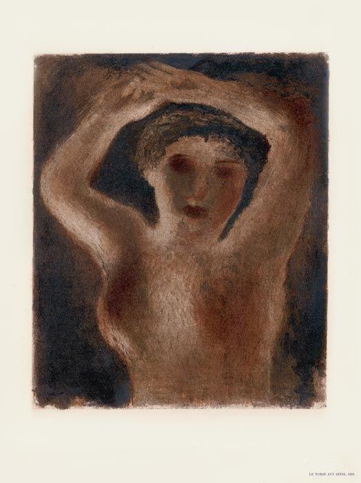 Litografía Fautrier - Le Torse aux seins