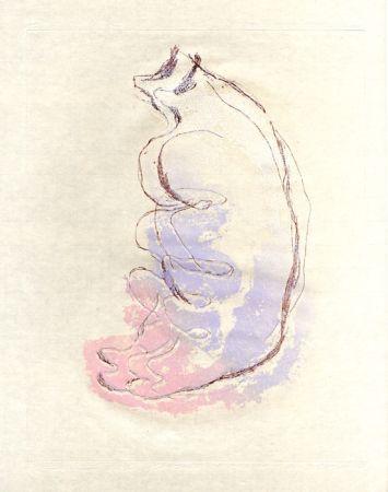 Aguafuerte Y Aguatinta Fautrier - Le torse de la femme