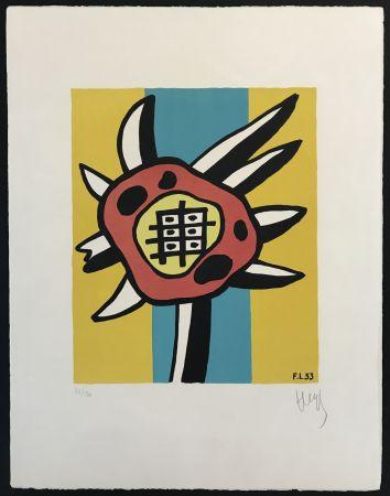 Litografía Leger - Le Tournesol (The Sunflower)