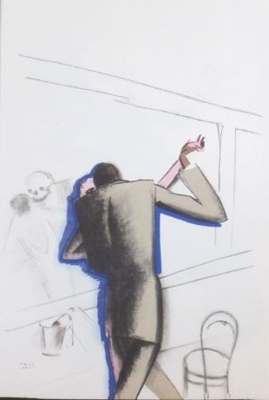 Litografía Colin - Le tumulte noir 16