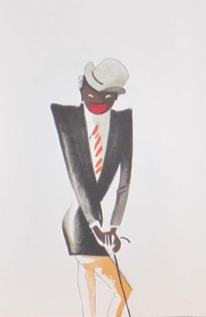 Litografía Colin - Le tumulte noir 30