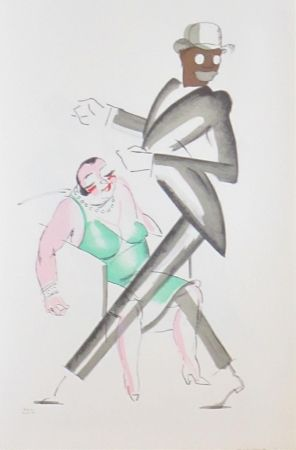 Litografía Colin - Le tumulte noir 33
