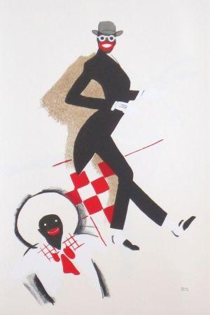 Litografía Colin - Le tumulte noir 36
