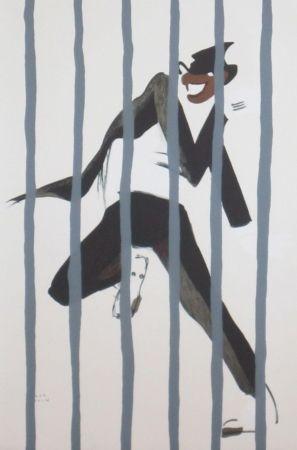 Litografía Colin - Le tumulte noir 44