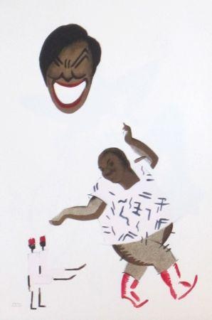 Litografía Colin - Le tumulte noir 6
