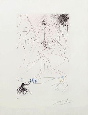 Grabado Dali - Le vaisseau fantôme