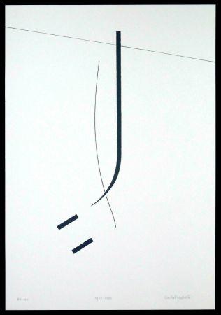 Serigrafía Badiali - Le vent se leve (tavola 5)