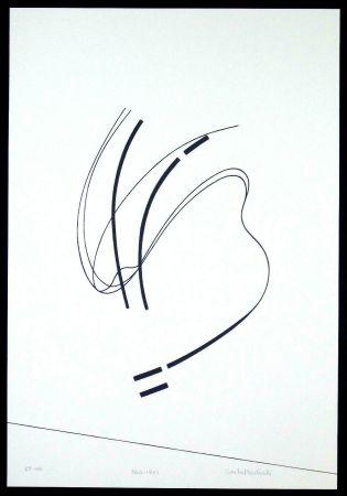 Serigrafía Badiali - Le vent se leve (tavola 6)