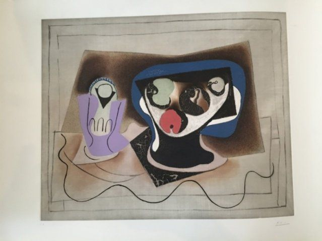 Aguatinta Picasso - Le Verre d' Absinthe