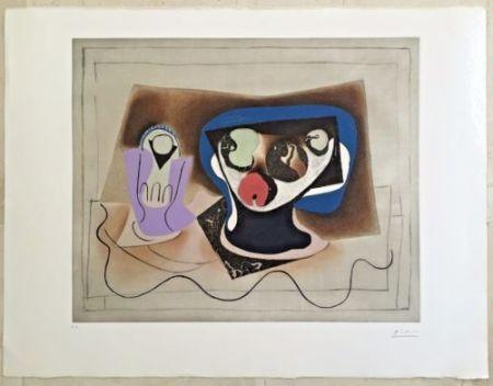 Litografía Picasso - Le Verre D'Absinthe