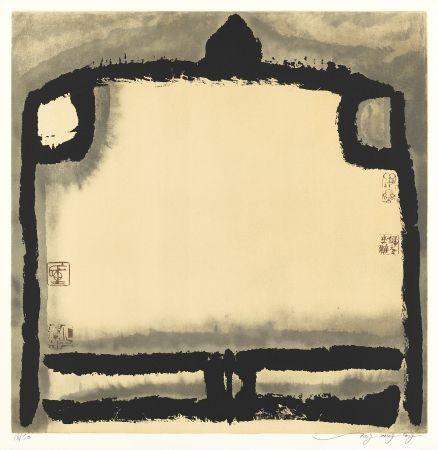 Litografía Tongzhengang - Le vide