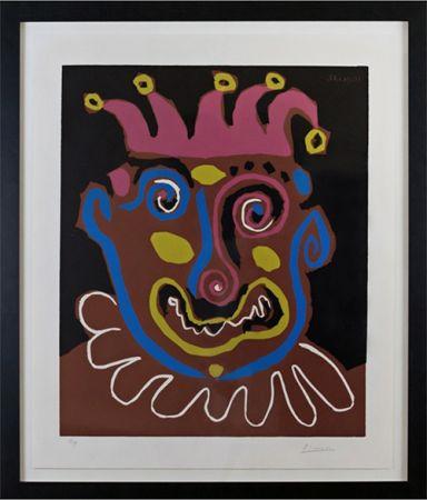 Linograbado Picasso - Le Vieux Roi (B. 1152)
