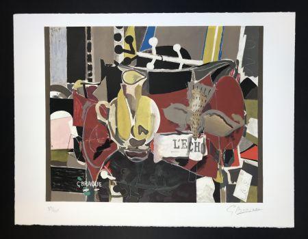 Litografía Braque - L'echo