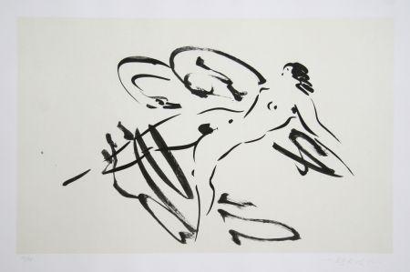 Grabado Nakian - Leda and the Swan - 4