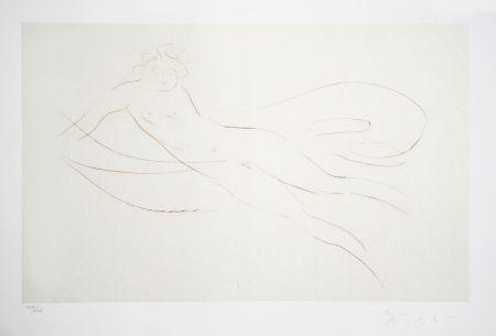 Grabado Nakian - Leda and the Swan - 5