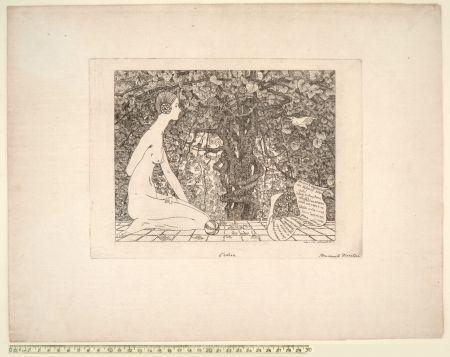 Aguafuerte Disertori - L'EDERA (1911-13)