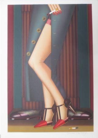 Litografía Okshteyn - Legs