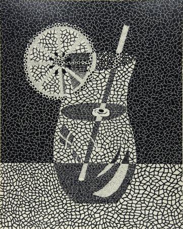 Serigrafía Kusama - Lemon Squash