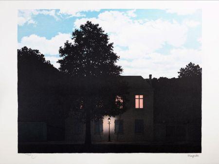 Litografía Magritte - L'Empire des Lumières