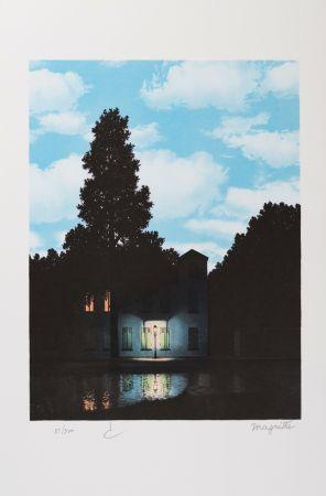 Litografía Magritte - L'Empire Des Lumières (The Empire Of Light)