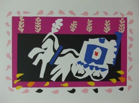 Litografía Matisse - L'enterrement de Pierrot