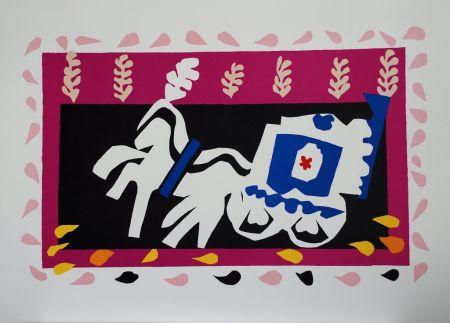 Colografía Matisse - L'Enterrement de Pierrot (Pierrot's Funeral)