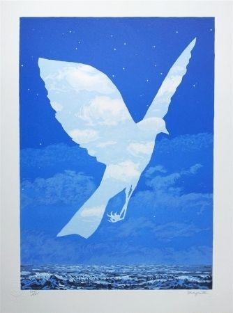 Litografía Magritte - L'Entrée en scène