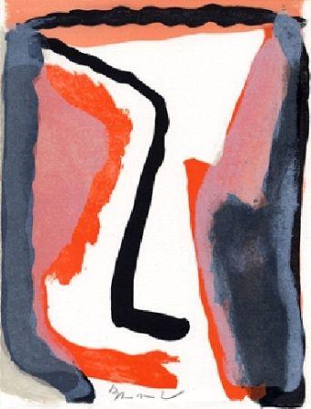 Libro Ilustrado Van Velde - L'envers, Jean Frémon