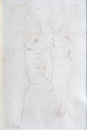 Punta Seca Rodin - Les Ames du Purgatoire