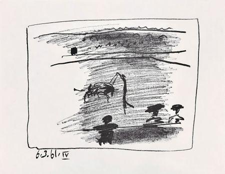 Litografía Picasso - Les Banderillas
