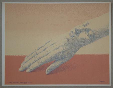 Litografía Magritte - Les bijoux indiscrets