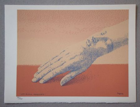 Litografía Magritte - Les bijoux indiscrets, 1963