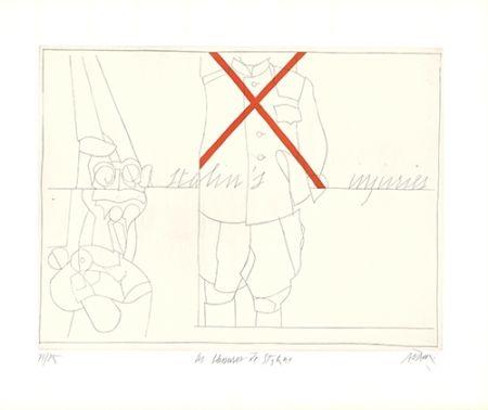 Grabado Adami - Les blessures de Staline / Stalin's Injuries