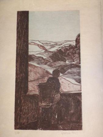 Grabado Ball - Les cahiers de Malte Laurids Brigge