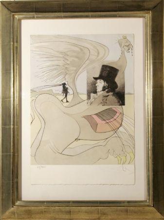 Grabado Dali - Les Caprices de Goya