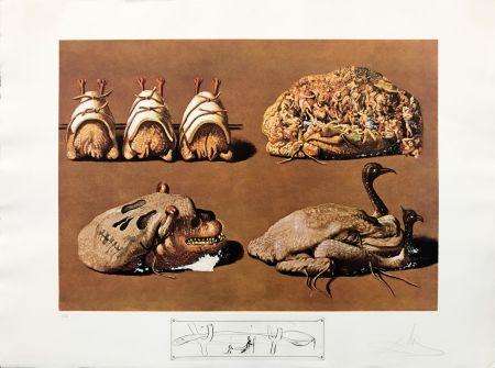 Litografía Dali - LES CAPRICES PINCES PRINCIERS
