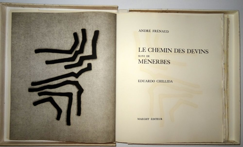 Libro Ilustrado De Eduardo Chillida Les Chemin Des Devins