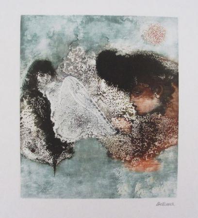 Grabado Bellmer - Les Deux Amies