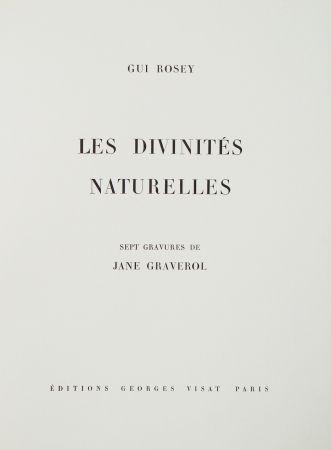 Libro Ilustrado Graverol - Les divinités naturelles