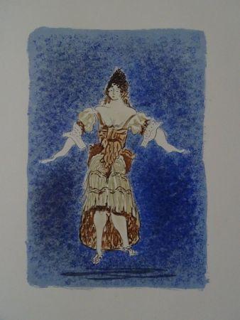 Litografía Braque - Les Facheux