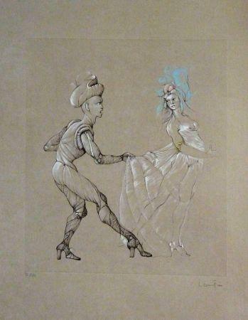 Litografía Fini - Les Femmes