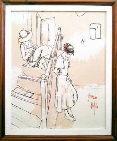 Sin Técnico Dufour  - Les filles sur les escaliers