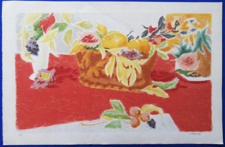 Litografía Cavailles - Les Fruits