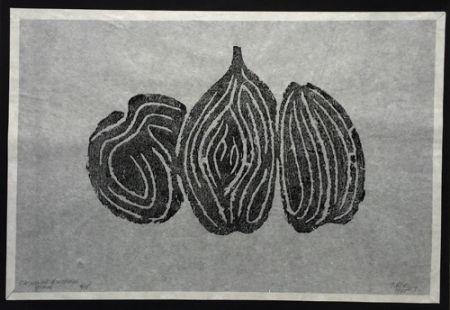 Aguafuerte Ubac - Les Fruits I