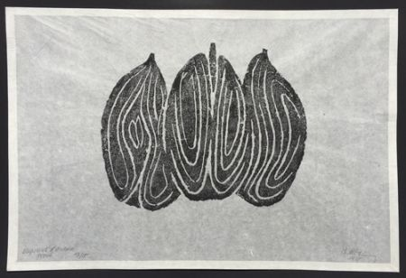 Aguafuerte Ubac - Les Fruits II
