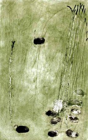 Grabado Barcelo - Les germes