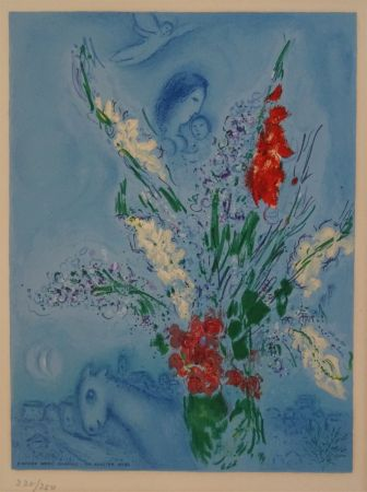 Litografía Chagall (After) - Les Glaieules
